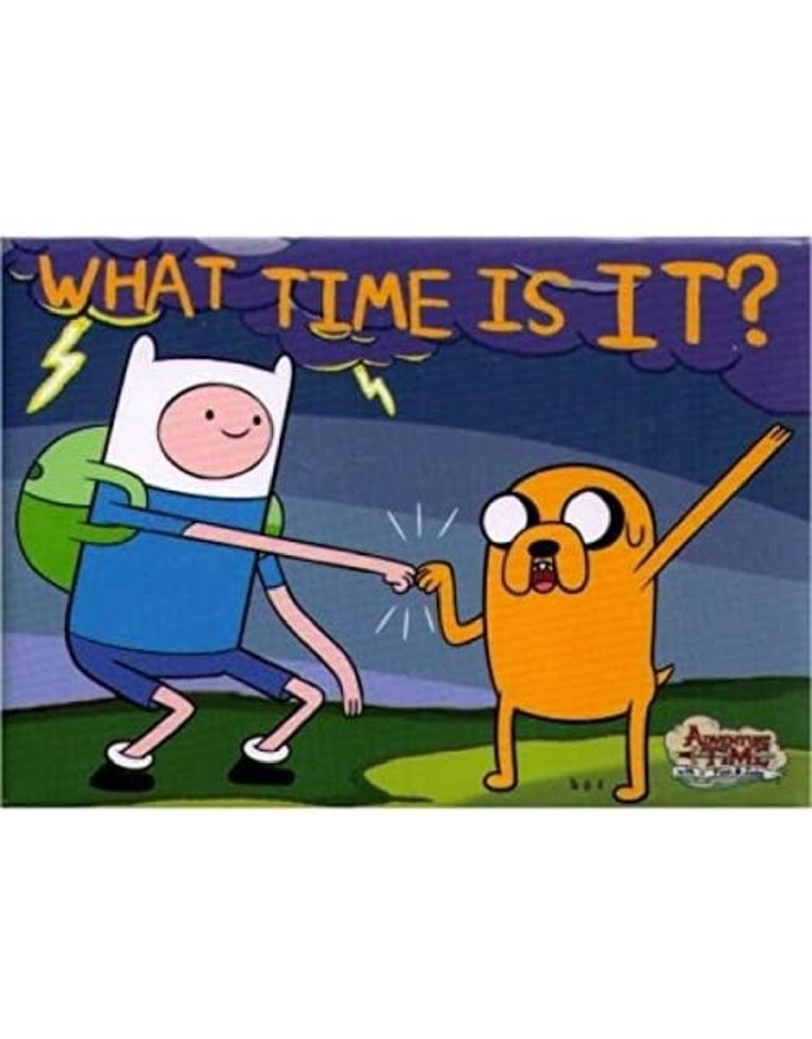 NMR Adventure Time What Time Is It? Flat Magnet