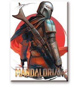 Star Wars - The Mandalorian Look Flat Magnet