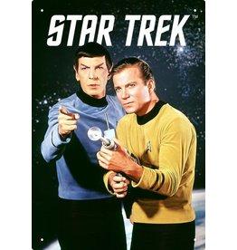 Star Trek - Spock Kirk Flat Magnet