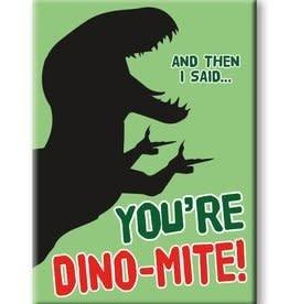 NMR Dinosaurs - Dinomite Flat Magnet