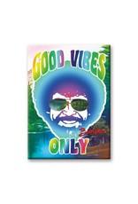 Bob Ross Good Vibes Flat Magnet