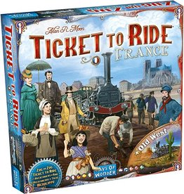 Days of Wonder Ticket to Ride: Map #6 - France/Old West