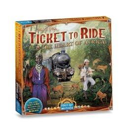Days of Wonder Ticket to Ride: Map #3 - Africa