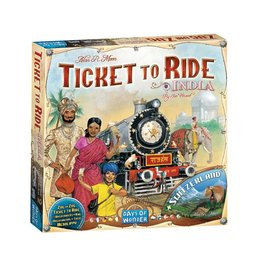 Days of Wonder Ticket to Ride: Map #2 - India/Switzerland