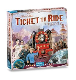 Days of Wonder Ticket to Ride: Map #1 - Asia