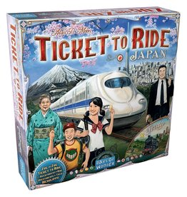 Days of Wonder Ticket to Ride: Map #7 - Japan/Italy