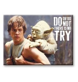 Star Wars - Do, or do Not Flat Magnet