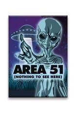 Aliens - Area 51 Flat Magnet