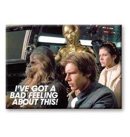 Star Wars - Bad Feeling Flat Magnet