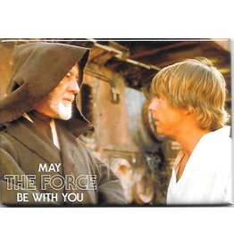 NMR Star Wars - May the Force Be with You Flat Magnet