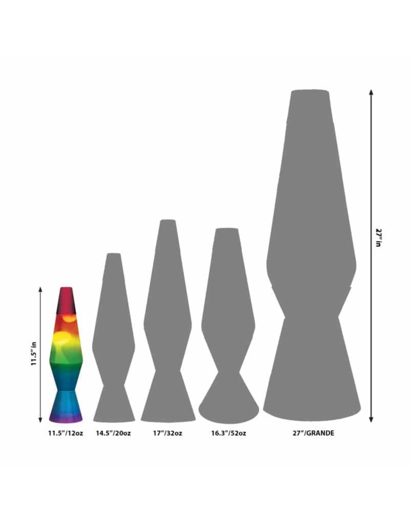 "Lava 11.5"" Lava Lamp - Rainbow"