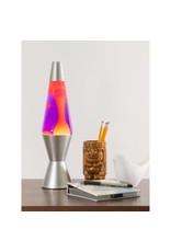 """Lava 14.5"""" Lava Lamp - Yellow/Purple/Silver"""