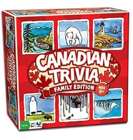 Outset Media Canadian Trivia: Family Edition