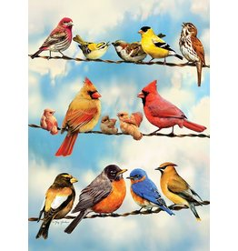Cobble Hill Blue Sky Birds Tray Puzzle