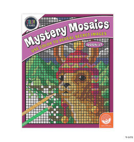 Mindware Mystery Mosaics Color By Number: Book 17