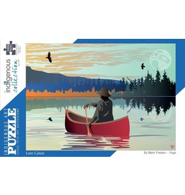 Indigenous Collection Lone Canoe 1000pc
