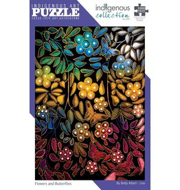 Indigenous Collection Flowers and Butterflies 1000 pc
