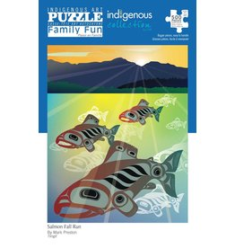 Indigenous Collection Salmon Fall Run 500pc