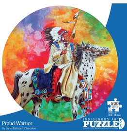 Indigenous Collection Proud Warrior 500 pc