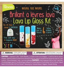 Kiss Naturals DIY Lava Lip Gloss Kit