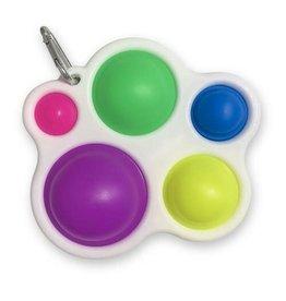 Popping Paint Palette Fidget with Clip