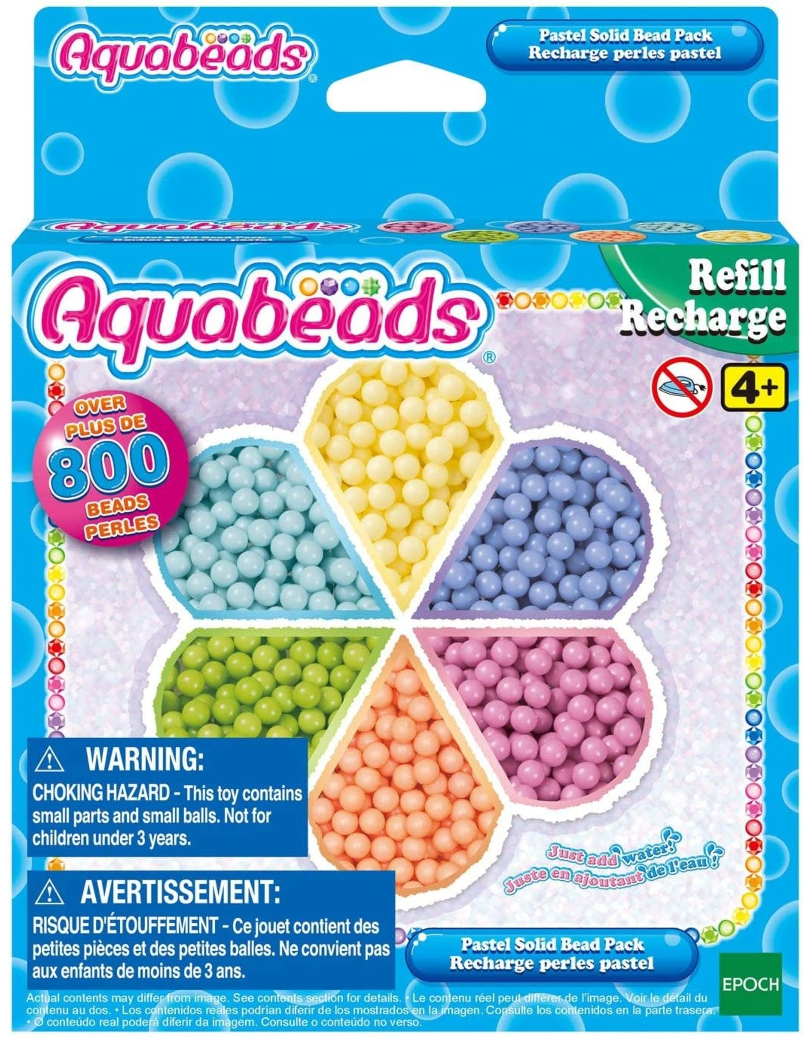 Aquabeads Aquabeads Pastel Solid Bead Refill Pack