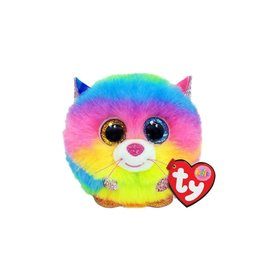 Ty Ty Puffies - Gizmo Rainbow Cat