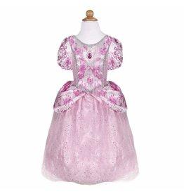 Great Pretenders Royal Pretty Pink Princess Dress, Size 12-24 mo.