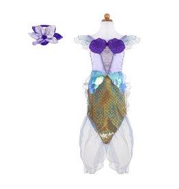 Great Pretenders Lilac Mermaid Dress & Headband, Size 3/4