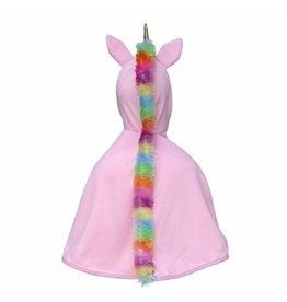 Great Pretenders Unicorn Cape, Pink, Size 5/6