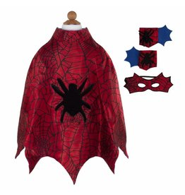 Great Pretenders Spider Cape Set, Size 3/4