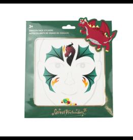 Great Pretenders Dragon Face Stickers