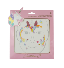 Great Pretenders Unicorn Fairy Face Stickers