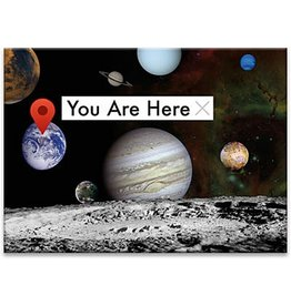 NMR NASA - You Are Here Flat Magnet