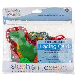 Stephen Joseph Lacing Cards - Dino