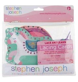 Stephen Joseph Lacing Cards - Unicorn