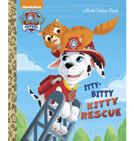 Little Golden Books The Itty-Bitty Kitty Rescue (Paw Patrol) - LGB