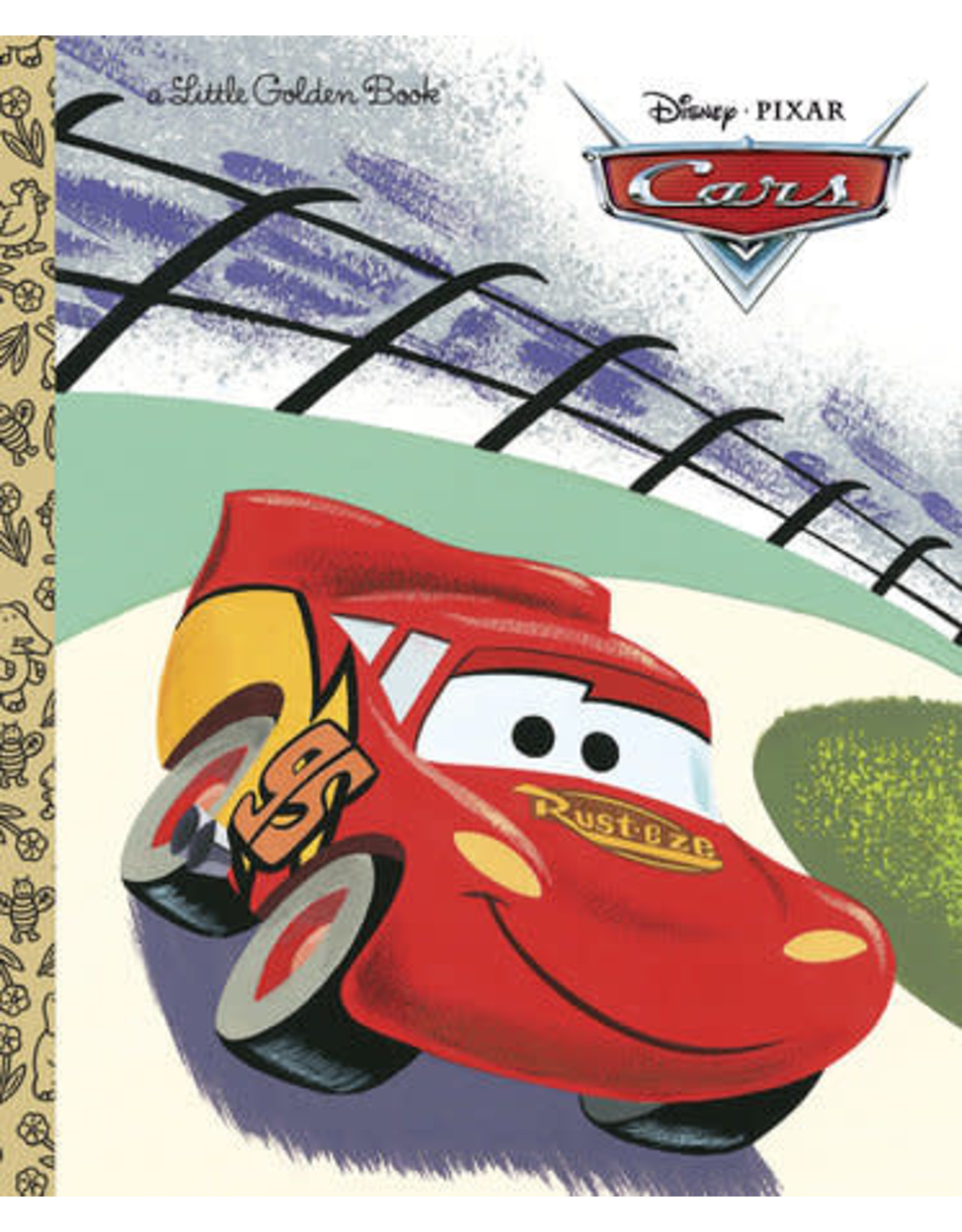 Little Golden Books Cars (Disney/Pixar Cars) - LGB