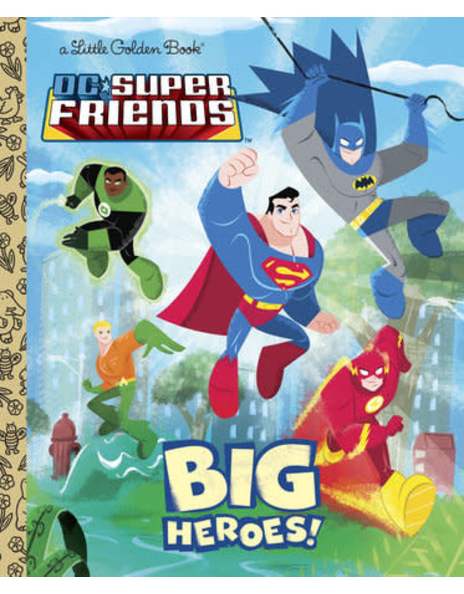 Little Golden Books Big Heroes! (DC Super Friends) - LGB