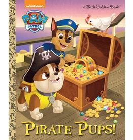 Little Golden Books Pirate Pups! (Paw Patrol) - LGB