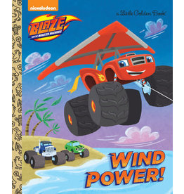 Little Golden Books Wind Power! (Blaze and the Monster Machines) - LGB