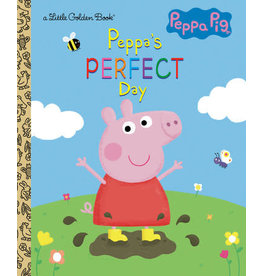 Little Golden Books Peppa's Perfect Day (Peppa Pig) - LGB