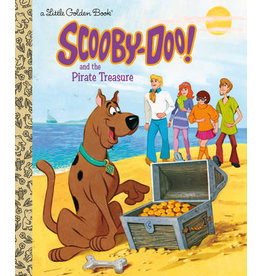 Little Golden Books Scooby-Doo and the Pirate Treasure - LGB