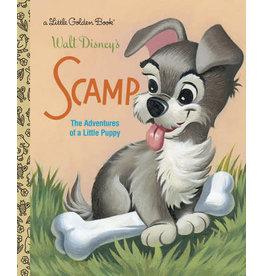 Little Golden Books Scamp (Disney Classic) - LGB