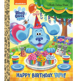 Little Golden Books Happy Birthday, Blue! (Blue's Clues & You) - LGB