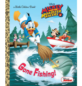 Little Golden Books Gone Fishing! (Disney Junior: Mickey and the Roadster Racers) - LGB