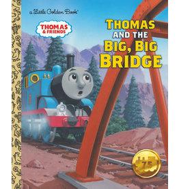 Little Golden Books Thomas and the Big, Big Bridge (Thomas & Friends) - LGB