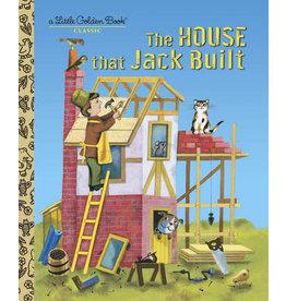 Little Golden Books The House that Jack Built - LGB