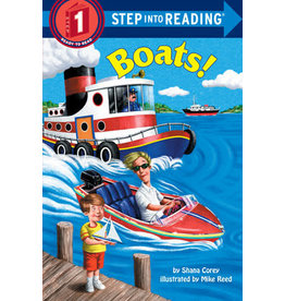 Step Into Reading Step Into Reading - Boats! (Step 1)