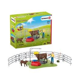 Schleich Happy Cow Wash